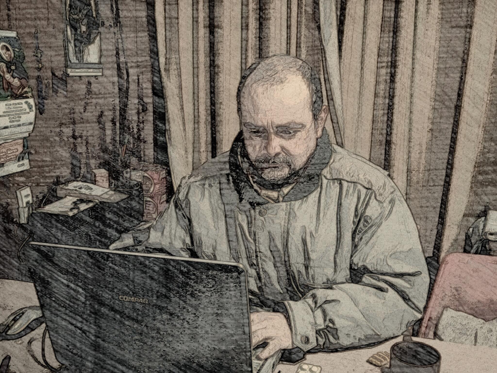 Daniel do Campo Spada. Director de TV Mundus y la revista ECO Informativo.