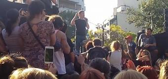 POLÍTICA – Peronismo | Multitudinario acto público de Axel Kicillof en el Parque Centenario.