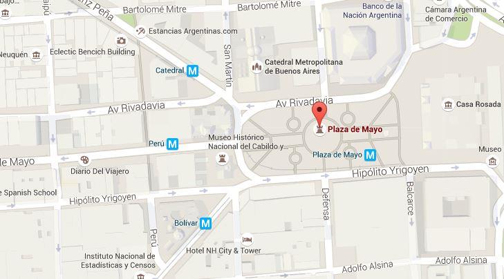 En la Plaza de Mayo es la cita para el jueves 24 para repudiar el 40° aniversario del Golpe de Estado.