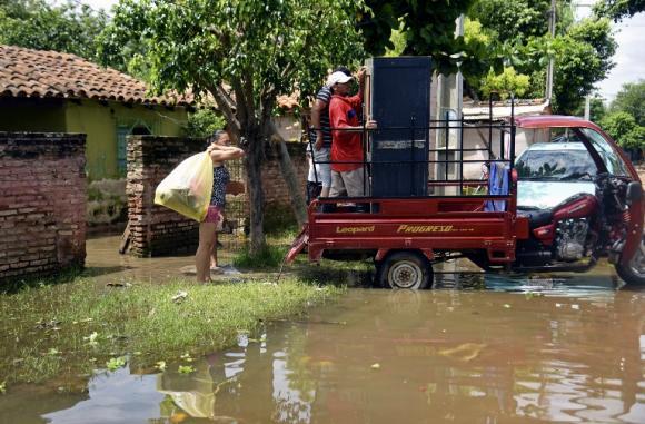 Paraguay fue el país más afectado de la las inundaciones.