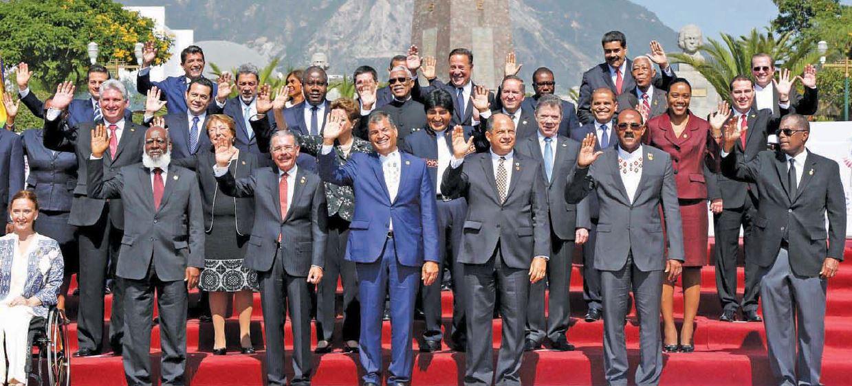 Danilo Medina de la República Dominicana es el nuevo Presidente Pro-Témpore de la CELAC.