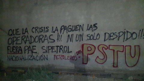 Las calles patagónicas reflejan la tensión social reinante.