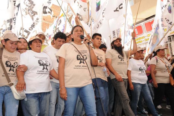 Milagro Sala es la primera detenida política del Gobierno de Macri.