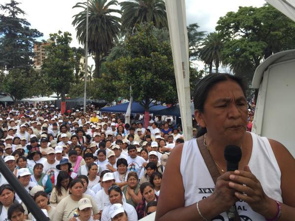 Los eurodiputados reclamaron por la libertad de la Diputada del Mercosur, primera presa política del PRO.