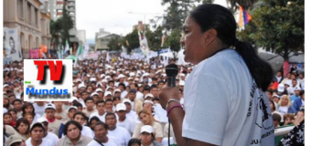 PRESA POLÍTICA – Régimen | Amnesty Internacional relata la detención de la Diputada Milagro Sala.