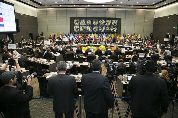 La Red de Parlamentarios pidió por MIagro Sala. FOTO: ANDES