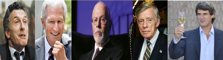 Macri, Pollack, Singer, Griesa y Prat Gay responsables de derrumbre económico de Argentina.