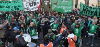 TRABAJADORES – Régimen | Los trabajadores estatales rechazan el Protocolo represivo de Macri.