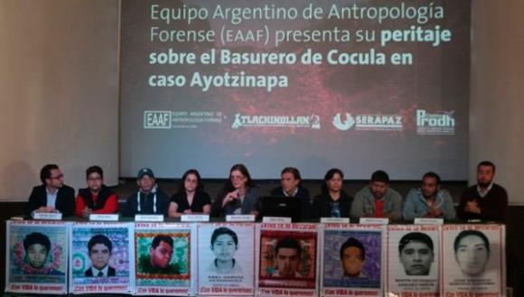 Los expertos argentinos dan su informe en México.