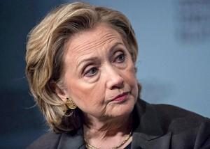 Hillary Clinton, candidata a la presidencia del régimen norteamericano.