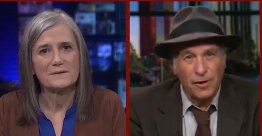 Amy Goodman en su reportaje en Democracy Now