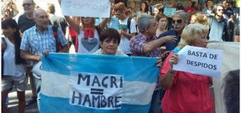 REPUDIO – Régimen | Multitudinario rechazo a Mauricio Macri en Rosario.
