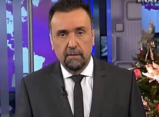 Roberto Navarro censurado por presiones a C5N. Está prohibido denunciar la corrupción de Macri.