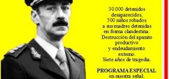 EDITORIAL – Dictadura Militar | 40 años atrás Argentina entraba en la peor noche.