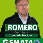 Diputado Romero, de SMATA, se alió al PRO.