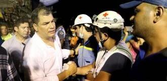 REGIÓN – Ecuador | Presidente de Ecuador estima entre 2 y 3 puntos del PIB costo de reconstrucción tras terremoto