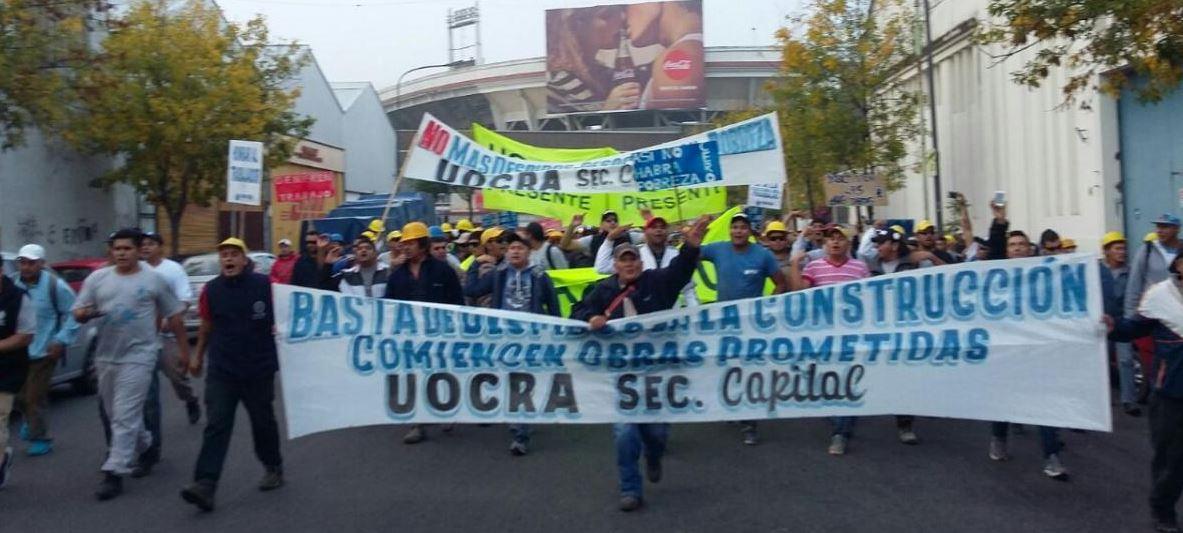 Rodríguez Larreta, Jefe de Gobierno de la CABA, no recibió el petitorio por los 7 mil desocupados de la construcción en la Capital.