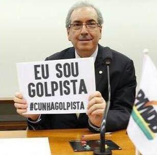 Cunha, ahora suspendido ha sido la cabeza del golpe contra Dilma Rousseff.