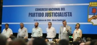 POLÍTICA – Justicialismo | Asumieron las nuevas autoridades del peronismo.