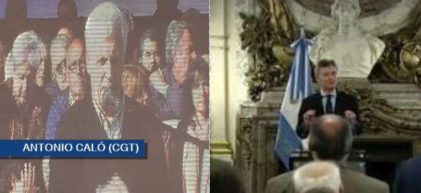 Caló fue maltratado por un Macri desestabilizado emocionalmente.