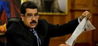 REGIÓN – Venezuela | Presidente Maduro denuncia 'complot internacional' contra su país que buscaría justificar agresión