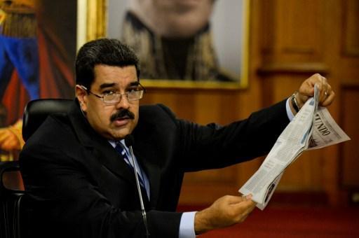Los golpistas quieren derrocar al Presidente constitucional Nicolás Maduro.