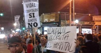 Los vecinos de Lomas de Zamora se quedan sin el Hospital de Llavallol por falta de presupuesto, pero la Gobernadora gasta $ 660 mil en acondicionar su casa en una base aérea. FOTO: FM VOCES