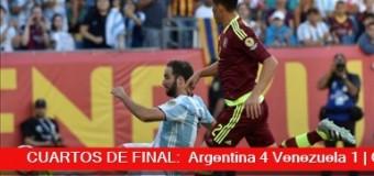 TV MUNDUS – Deporvida | Argentina goleó 4 a 1 a Venezuela en la Copa América
