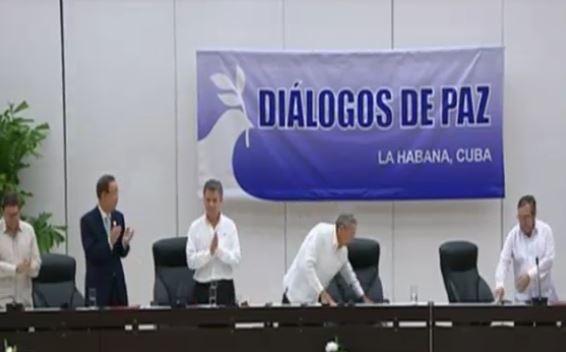 Las conversaciones en La Habana duraron tres años pero llegaron a un acuerdo definitivo.
