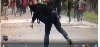 BUENOS AIRES – Régimen | El macrismo reprime a vecinos que reclaman protección a sus hijos.