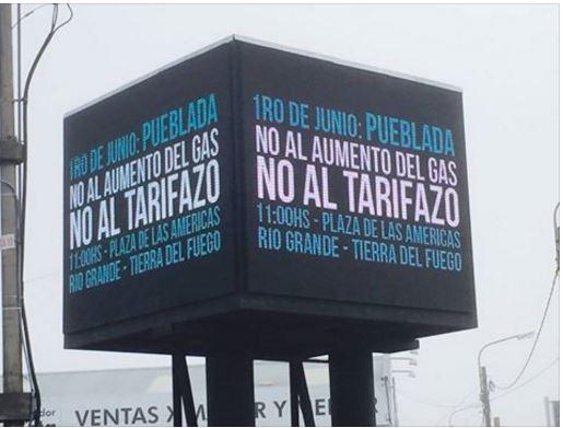La soberbia Ciudad de Buenos Aires recibe menos gas por el paro de los petroleros patagónicos que no son escuchados por Macri.