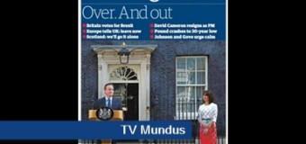 TV MUNDUS – Noticias | Gran Bretaña se va de la Comunidad Europea
