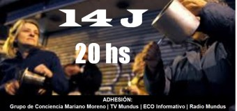 POLÍTICA – Régimen | Crecen las adhesiones para el cacerolazo del jueves 14 de junio.