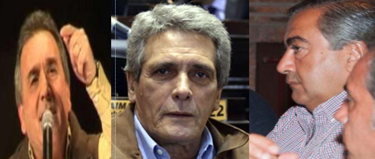 Schmid, Acuña y Daer. Tibia oposición al Gobierno de Mauricio Macri.