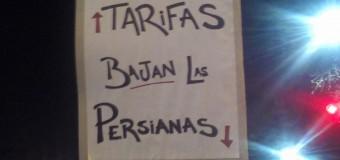 TARIFAZO – Régimen | Multitudinaria manifestación en contra de las medidas económicas del macrismo.