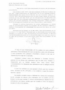Carta de Hebe de Bonafini al Juez Marcelo Martínez.