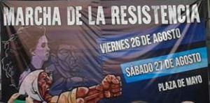 DERECHOS HUMANOS – Madres | Volvieron las Marchas de la Resistencia.