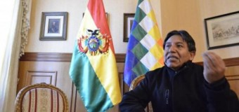 REGIÓN – Bolivia | Canciller Choquehuanca asegura que los bolivianos están 'haciendo historia'