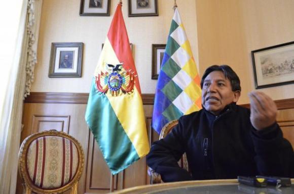 David Choquehuanca, canciller de Bolivia. FOTO: ANDES