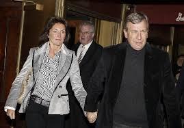 Cecilia Attias con su nuevo esposo Richard, lobista de empresarios evasores.