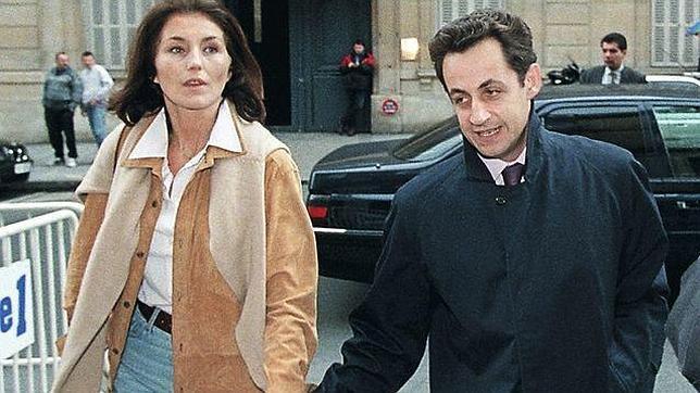 Cecilia Attias cuando era esposa del corrupto ex Presidente francés Nicolás Sarkozy.