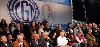TRABAJADORES – Régimen | Tibia decisión de probable paro de la CGT.