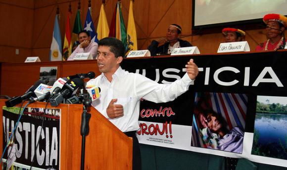 El Dr. Fajardo representó a las víctimas de Chevron.