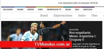 TV MUNDUS – Deporvida 302 | Argentina venció a Uruguay por las eliminatorias.