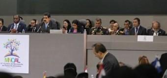 MUNDO – No Alineados | Venezuela preside el Movimiento de paises que representan el 55 % de la población mundial.