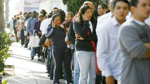 Solo en los primeros seis meses se perdieron más de medio millón de puestos de trabajo.