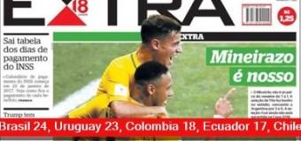 TV MUNDUS – Deporvida | Apabullante derrota de Argentina ante Brasil por 3 a 0