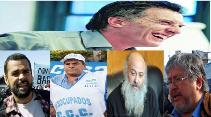 ¿Hubo acuerdo de cúpulas entre Macri, Alderete, Menéndez, Pérsico y Navarro?