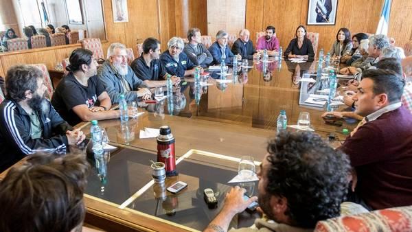 Carolina Stanley recibió a los movimientos sociales que son benévolos con Macri a pesar de sus protestas en público.