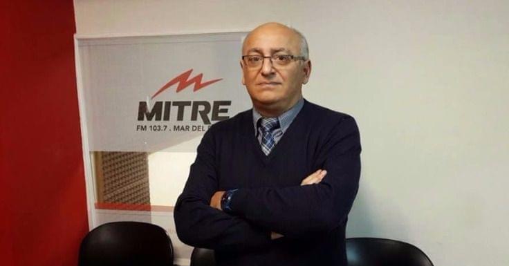 Daniel Viglione, estrella de Radio Mitre de Mar del Plata. Desde el Grupo Clarín estafó a oyentes por u$s 5 millones.